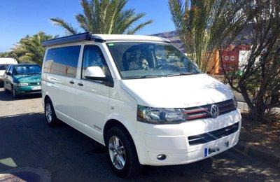 Camper Volkswagen T5 En alquiler en Las Palmas De Gran Canaria