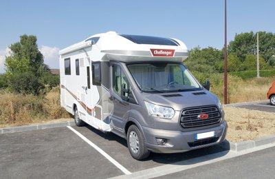 Camping-car Profilé Challenger 398 Xlb Genesis Special Edition 2017 en location à Cranves-Sales