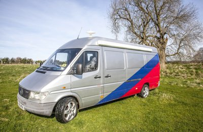 Converted van Mercedes Benz Sprinter For rent in Bristol