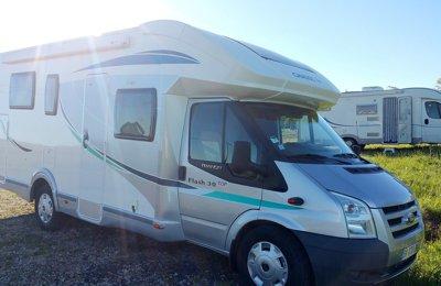 Camping-car Profilé Ford Chausson Flash 30 en location à Labenne