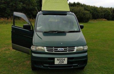 Campervan Ford Freda For hire in East Kilbride