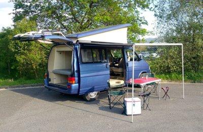 Campingbus Volkswagen California Beach zu vermieten in Donostia