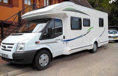 Camping-car Profilé Chausson Best Of 28 en location à La Wantzenau