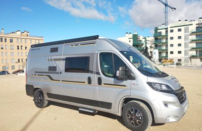 452b2c4669 Campervan Fiat Ducato Benivan 119 To rent in Madrid
