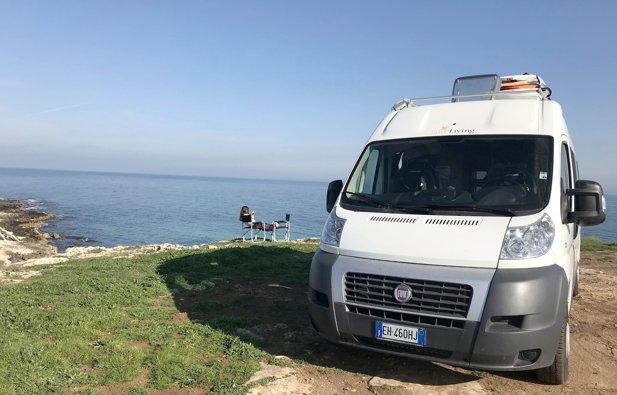 Viaggio con il Furgonato Adria Van Flexo Sp Flex Living Sun