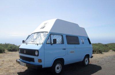 Campervan Vw T3 em aluguer em Funchal
