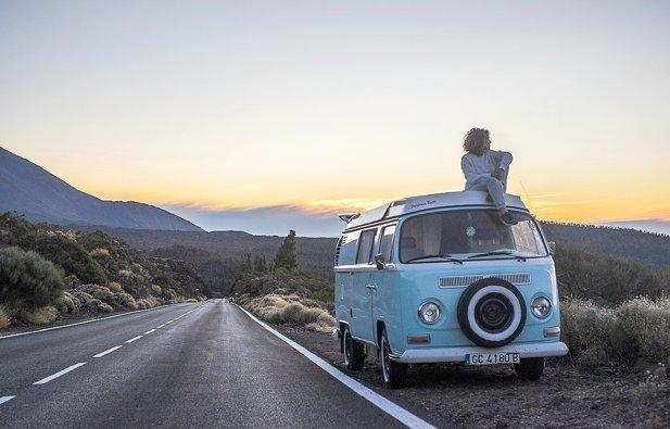 Vermietung von Campervan Volkswagen T2 Bulli Bay