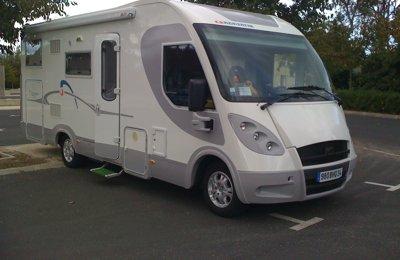Camping-car Intégral Adriatik Vision I  707 Sg en location à Sérignan