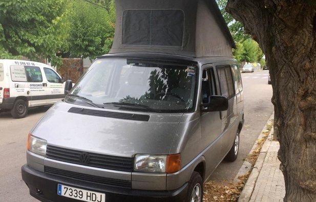 Alquiler de la Furgoneta camper Volkswagen California