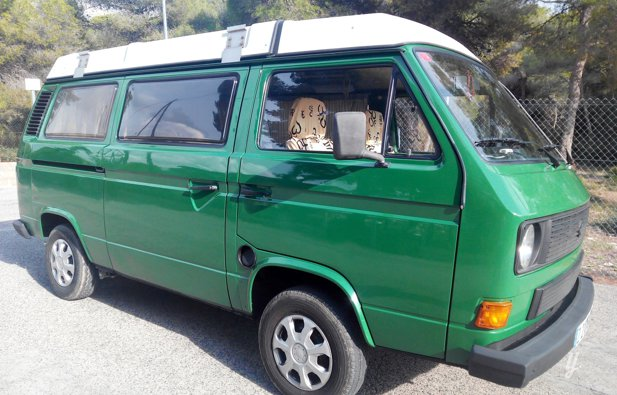 Vermietung von Campervan Volkswagen Transporter 3 Joker