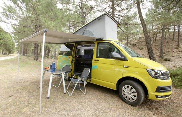 Foto de Camper Volkswagen California Beach T6