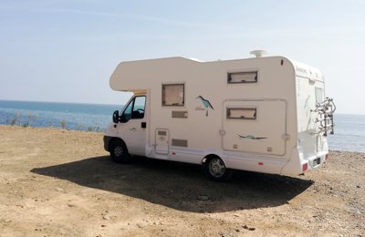 RV Coachbuilt Hymer Ducato For rent in Calahonda