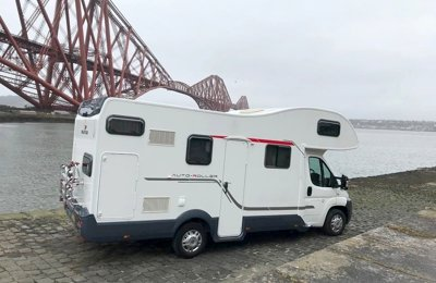 Motorhome Coachbuilt Fiat Rollerteam Auto-Roller 707A For hire in Kirkcaldy