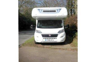 Motorhome Coachbuilt Rimor Superbrig 695 For hire in Worcestershire