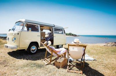 Camper Vw Type 2 Westfalia For rent in Barnbarroch