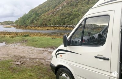 Converted van Mercedes Sprinter For rent in Edinburgh