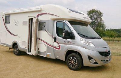 Camping-car Profilé Rapido 7091Ff en location à Geaune