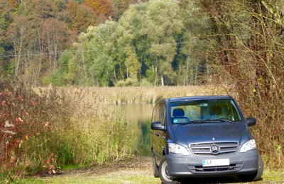 Van Mercedes Benz Vito Lang Blue Efficiency condiviso a Winhöring
