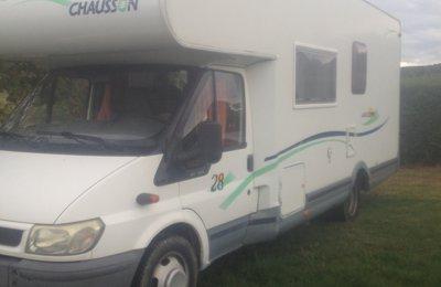 Camping-car Capucine Ford Transit en location à Deyme