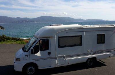 Location de camping cars et vans corse du sud yescapa for Garage fiat porto vecchio