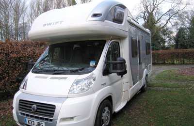 Motorhome Coachbuilt Swift Voyager 685 Fb For hire in Stansted