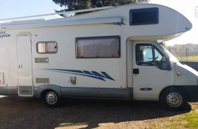 Motorhome Coachbuilt Mc Louis Glen 560 For rent in Étoile-Sur-Rhône