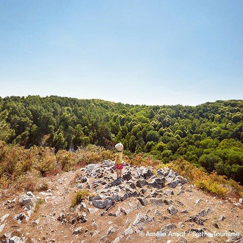 Alpes Mancelles & forêt de Sillé-le-Guillaume - Location de camping-cars