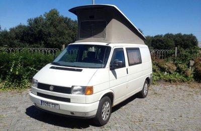 Van Volkswagen  California condiviso a Santander