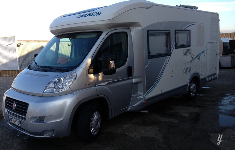 Photo du Camping-car Profilé Chausson Welcom 78