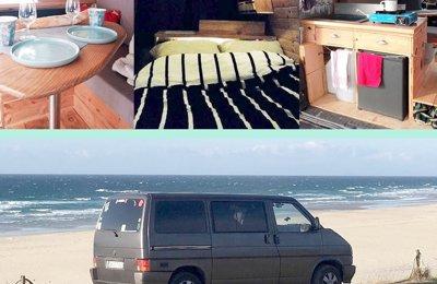 Camper Volkswagen T4 - Multivan For rent in Bayonne