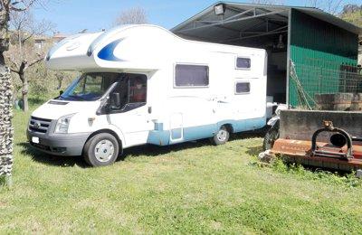 Camper Mansardato Blucamp Sky 70 condiviso a Amelia