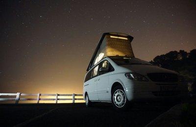 Furgoneta camper Mercedes Viano Marco Polo En alquiler en Zarautz