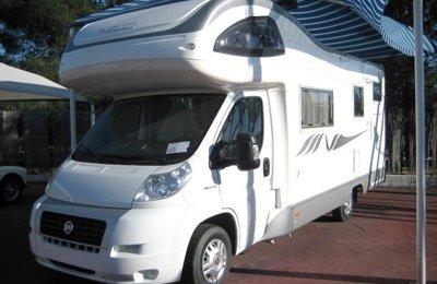 RV Coachbuilt Mobilvetta Kea 73 For rent in Marbella