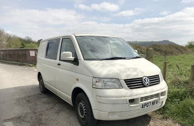Camper Volkswagen T5 Conversion For rent in Bristol