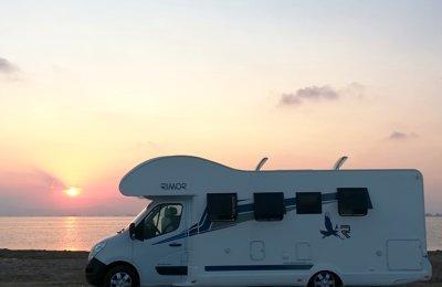 65ac684323 Coach-built Motorhome Rimor Katamarano 209 To rent in Gavà