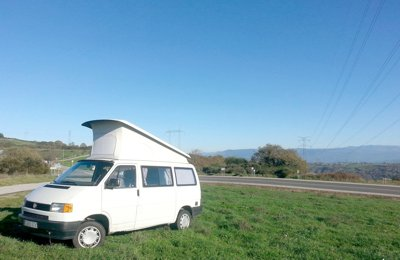 Converted van Volkwagen T4 California (M) For rent in Móstoles