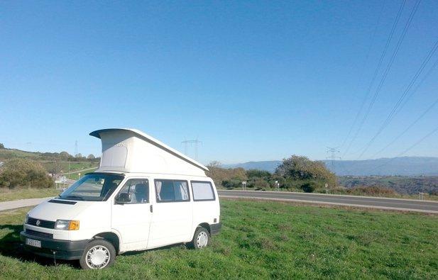 Camper Volkwagen T4 California (M) rental