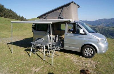 Furgoneta camper Volkswagen California T5 En alquiler en Barakaldo