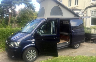 Campervan Vw T5 With Jobl Conversion For hire in Wirral