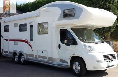 Motorhome Coachbuilt Eura Mobil Activa 820 For hire in Cannock