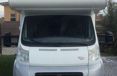 RV Coachbuilt Giottiline Therry Et 25 For rent in Borgo Lotti