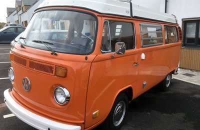 Camper Volkswagen Westfalia For rent in Porthtowan