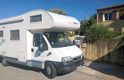 Camping-car Capucine Fiat Chausson en location à Marches