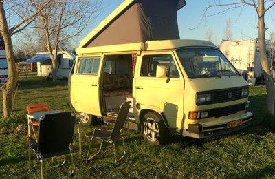 Campingbus Volkswagen T3 Westfalia zu vermieten in Bologna