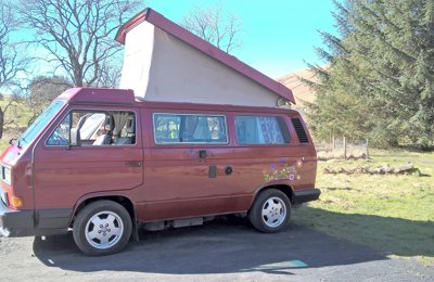 Campervan Volkswagen T3 For rent in Tullibody