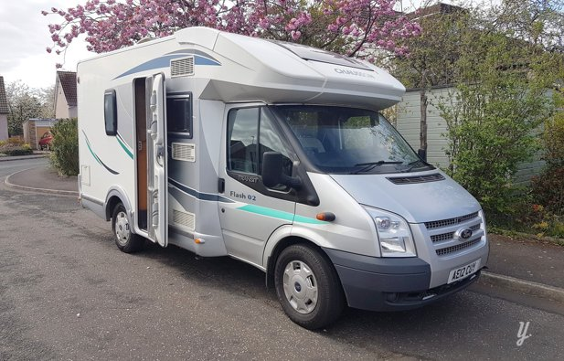Picture of Low profile motorhome Chausson Flash 02