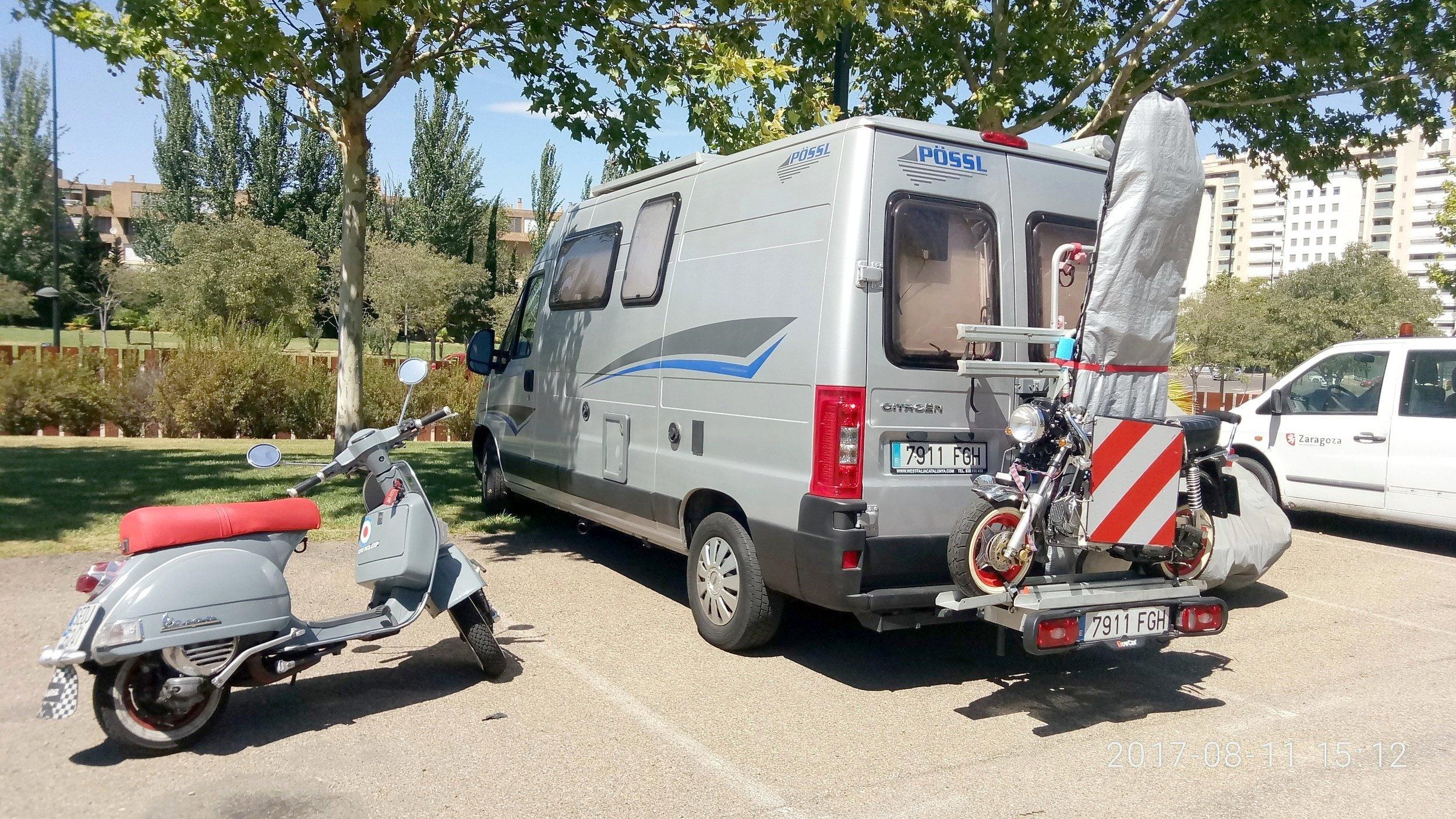 Alquiler de Autocaravanas y Furgonetas camper - Zaragoza | Yescapa