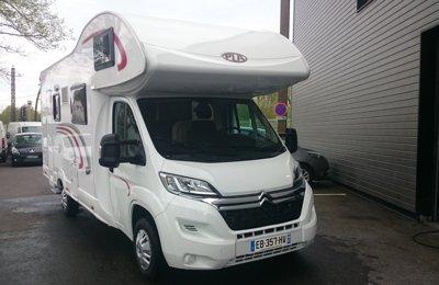 Camping-car Capucine Pla Mister Camp 435 en location à Saint Paul Les Dax