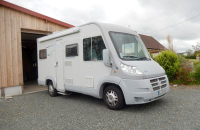 Camping-car Intégral Fiat City Van en location à Chalmoux