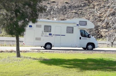 09648998af Coach-built Motorhome Fiat Rimor Seal 9 To rent in Madrid